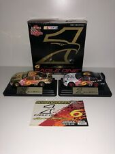 Mark Martin Eagle One Regular Paint And 24k Gold 1:24 Scale 2 car set | With COA