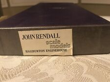 John Rendall ORIGINAL (not JV)  Models HO/HOn3 Haliburton Engine House 1987