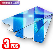 3X Tempered Glass 9H Clear Screen Protector Film Cover For Xiaomi Huawei Samsung