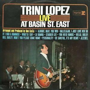 Trini Lopez Live At Basin Street East Vinyl LP.1964 Reprise R 6134.La Bamba+