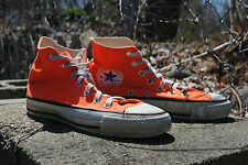 1970's Men's Converse High Top Orange Size 6, Made in the USA, Suare Label