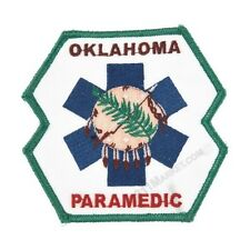 Oklahoma Paramedic Patch EMS OK State Rescue FD US EMT-P Medic Emergency -  F 66