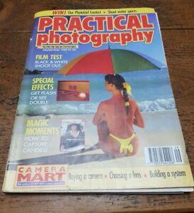Vintage Practical Photography Magazine September 1989