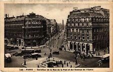 CPA PARIS 2e-Carrefour de la Rue de la Paix et de l'Avenue de l'Opéra (321890)