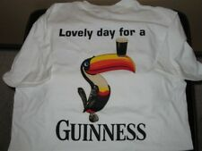 New Old Stock Promo Guinness Draught Draft Lovely Day For Toucan T Shirt Medium
