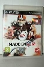 NFL MADDEN 12 GIOCO USATO BUONO STATO SONY PS3 ED UK PAL VBC 38956