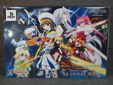 PSP Magical Girl Lyrical NANOHA A'S Portable The Battle Of Aces LYRICAL Box New