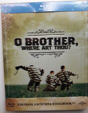 O'BROTHER BLU-RAY STEELBOOK COHEN BROTHERS, CASTELLANO, MOVED SECOND PRINT, RARE