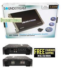 Soundstream Ar1.2500d Arachnid Series 2500w Class D Monoblock Amplifier