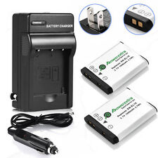En-El19 Battery Charger for Nikon Coolpix S33 S7000 S6900 S3700 S3500 2 Pcs