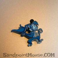 Disney DS Wisdom October 2019 Aladdin Blue Monocromatic Pin (UQ:136728)