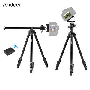 Andoer Q160H Portable Camera Tripod Horizontal Mount Professional Travel B9P7
