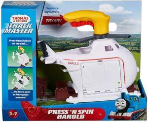 Thomas & Friends Track Master Press 'n Spin Harold **New**
