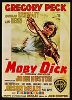 Manifesto Moby Dick El Ballena Huston Melville Gregory Peck Orson Well S15