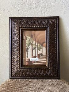 Picture Frame 4x6 Photo Brown Tone By Lawrence New Frame