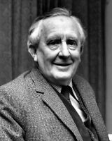 New 8x10 Photo: J.R.R Tolkien, Author of Lord of the Rings and The Hobbit