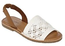 Arizona Honey Womens Flat Sandals Size W10