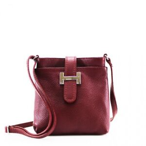 Beautiful VPH00 Women Ladies Crossbody Real Leather Bag Girls Soft Shoulder Bags