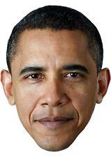 Barack Obama Cardboard Face Mask