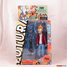 Futurama Phillip J. Fry action figure 2009 Encore Edition by Toynami - worn box