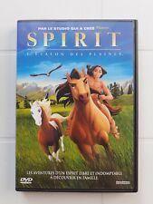 DVD    ENFANTS  SPIRIT  L ETALON DES PLAINES  année  2003