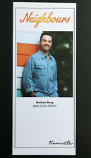 More details for nathan borg *curtis perkins* neighbours unsigned cast fan card new very rare