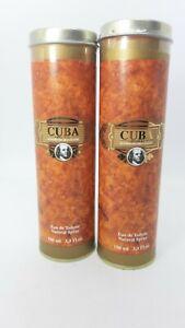 Cuba Original Mens Perfume 2 X 100ml Eau De Toilette Spray For Him Gif New 200ml