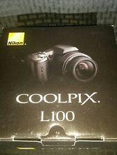 Nikon Coolpix L100 10.MP Digital Camera 15x Wide Zoom Lens (Boxed)