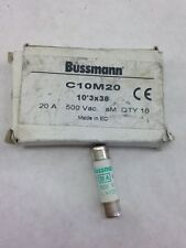 BUSSMANN BOX OF 10 C10M20 10X38 500V (A867)