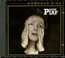 EDITH PIAF - COMPACT D'OR - 1987 BEST OF CD ALBUM [1573]