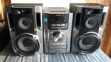 Sony MHC-ec70 Mini HIFI Component Stereo System 3-CD Changer Cassette Tape Radio