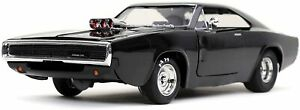 Jada Toys Fast & Furious F9 1:24 1970 Dom's Dodge Charger Die-cast Car 2021