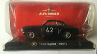 "DIE CAST "" 1900 SPRINT (1951) "" ALFA COLLECTION  SCALA 1/43"