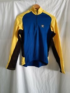 Pearl Izumi long sleeve full zip Cycling top size small made in USA
