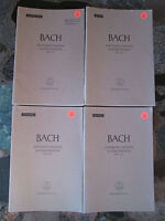 BACH ST. JOHN PASSION in 4 PARTS CHORAL SHEET MUSIC LOT OF 70 Choir Arrangement