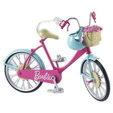 Barbie Bici Bicicletta in Rosa Con Casco Blu Nuovo