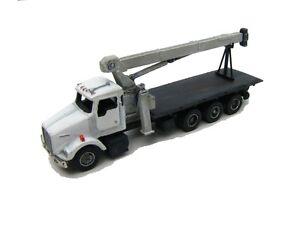 "N Scale ""KW"" Tri-Axle Truck with Heavy Boom Crane Kit- Showcase Miniatures (65)"