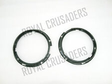 BRAND NEW WILLYS FORD JEEP HEADLIGHT BEAM HOLDING INNER RIM SET  @CL