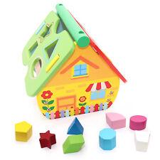 Smoby Cotoons Steckspielzeug Haus Formensortierer Spielzeughaus Blau 110403# Holzspielzeug Baby