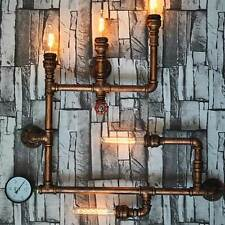 5 Bulbs Luxury Industrial Water Tube Wall Lamp Retro Vintage Sconce Light Decor