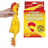 Accoutrements Therapeutic Rubber Chicken Relaxing Stress Reducing Foam Squeezer!
