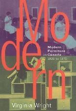 Modern Furniture in Canada: 1920-1970