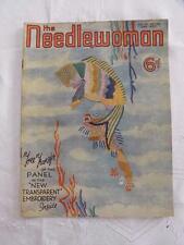 "VINTAGE 1930's ""THE NEEDLEWOMAN"" SEWING FASHION MAGAZINE - JUNE 1937"