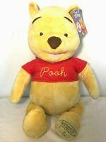 "2005 Disney 24"" Winnie The Pooh Fisher Price Plush Bear 80 Years Of Friendship"