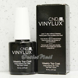 CND Vinylux Weekly Top Coat 0.5 oz/15 mL 7 Days Nail Lacquer Polish >> Ship 24H