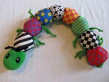 Lamaze Learning Curve Inchworm Caterpillar Learning Sensory Toy Plush 24