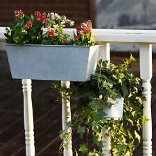 Hanging Planter Flower Pot Metal Container Wall Pocket Garden