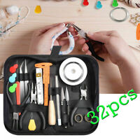 32Pcs DIY Repair Kit Jewelry Making Supplies With Jewelry Plier And Beading Wire