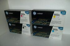 HP 503A 501A Toner Cartridge Set for CP3505 3800 Q6470A Q7581A Q7582A Q7583A NEW