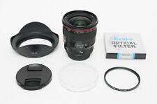 Canon EF 24mm f/1.4 L II USM Lens EOS DIGITAL Camera EXCELLENT + BONUS UV Filter